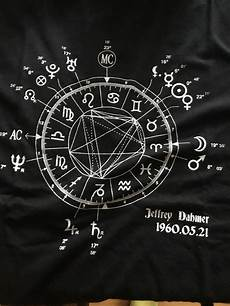 Jeffrey Dahmer Birth Chart When The Cannibalism Started Aka I Bought A Shirt Of