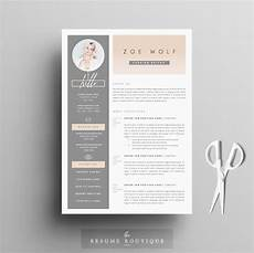 Creative Resumes Templates Free Resume Template 5pages Dolce Vita Resume Templates