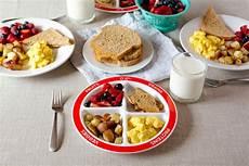 healthy balanced breakfast with myplate healthy ideas