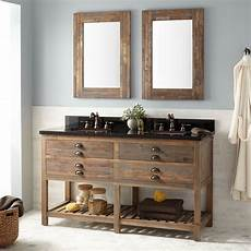 60 quot benoist reclaimed wood console vanity for