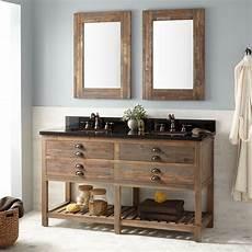 60 quot benoist reclaimed wood console vanity for