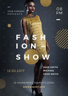 Fashion Show Flyers Fashion Show Flyer By Infinite78910 Graphicriver