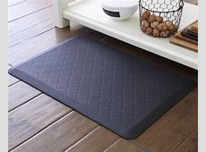 Polyurethane commercial kitchen mats, comfort kitchen mats, commercial kitchen floor mats, black