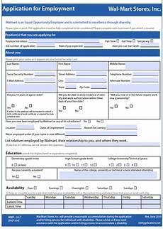 Pdf Job Application Wal Mart Job Application Adobe Pdf Apply Online