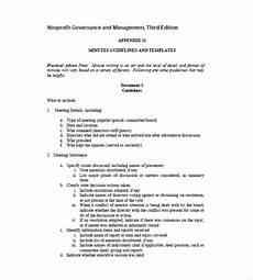Board Meeting Templates Free 15 Board Meeting Minutes Templates Google Docs Pdf