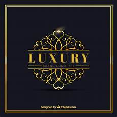 luxury logo template free vector