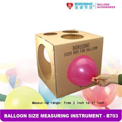 Balloon Sizer Box 13 Size Perfect Balloons Wedding Proms Party Balloon Arch