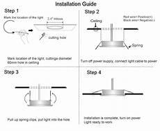Led Light Installation Led Ceiling Lights For Van Conversion Acegoo 12v 3 Watts