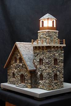 House Of Stone And Light Miniature Stone Lighthouses Pedro Davila Flickr