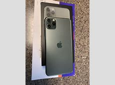 Apple iPhone 11 Pro Max ? 256GB ? Midnight Green