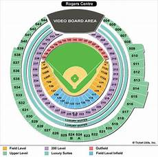 Rogers Centre Seating Chart Rogers Centre Seating Map Rogers Seating Map Canada