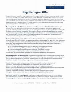 How To Negotiate A Job Offer Negotiating A Job Offer