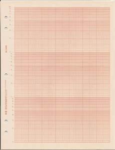 3 Cycle Semi Log Graph Paper Keuffel Amp Esser 46 5493 3 Cycle Semi Logarithmic Paper