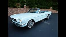 Light Blue 1966 Mustang 1966 Ford Mustang Convertible Light Blue For Sale Old