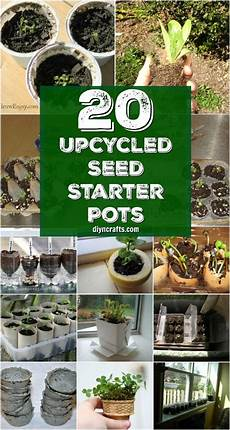 20 upcycled seed starter pots you can easily make at home