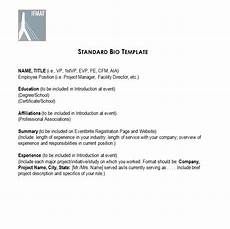 Short Bio Templates Free 45 Free Biography Templates Amp Examples Personal