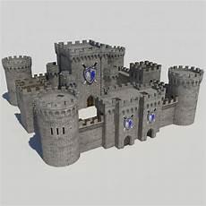 Castle Keep Design Medieval Castle 1 3d X Medieval Castle Castle