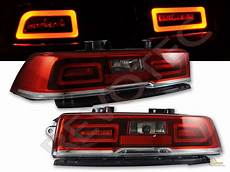 2014 Camaro Ss Led Lights 2014 2015 Chevy Camaro Red Led Lights Lamps Rh Amp Lh 1