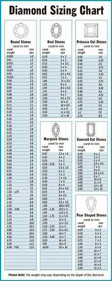 Diamond Clothing Size Chart Chart Diamond Sizes Mm To Ct Dazzling Jewellers