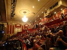 Palace Theatre New York City Seating Chart View Of The Front And Rear Mezzanine Picture Of