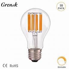 Vintage Light Bulbs Cool White Grensk 4w 6w 8w 10w Edison A19 Globe Lamp Vintage Led