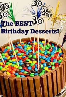 the best birthday desserts