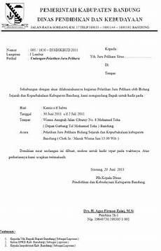 contoh undangan organisasi contoh surat undangan resmi pemerintahan dan organisasi