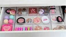 vanity makeover makeup organization storage ideas