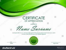 Background Certificate Of Appreciation Certificate Appreciation Template Green Dynamic Light