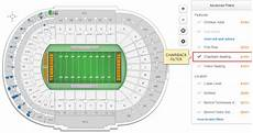 Tennessee Volunteers Stadium Seating Chart Do Any Of The Seats At Neyland Stadium Have Backs To Their