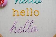 learn how to embroider letters on craftsy