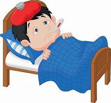 fever clipart sick day fever sick day transparent free