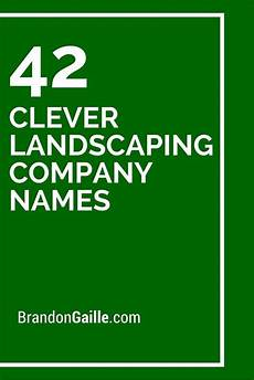 Landscaping Business Name Ideas Pinterest The World S Catalog Of Ideas