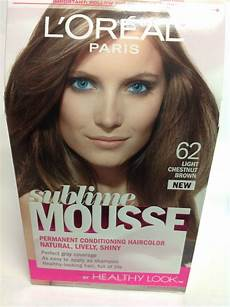 Loreal Light Chestnut Brown L Oreal Sublime Mousse By Healthy Look Hair Color Light
