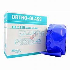 Ortho Glass Splinting Chart Ortho Glass Fiberglass Padded Splinting System Med Plus