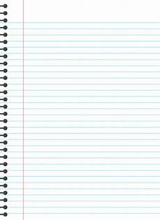 Blank Line Paper Blank Lined Paper Template Premium Vector