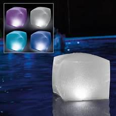 Floating Solar Pool Lights Walmart Intex Floating Pool Led Lighting Inflatable Cube Light