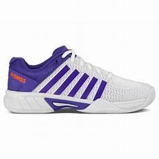 Light Tennis Shoes K Swiss Womens Express Light Tennis Shoes White Purple