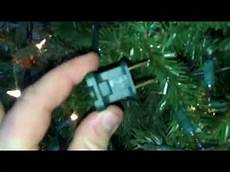 How Do You Change A Fuse In Christmas Lights Christmas Lights Hidden Fuse Indoor Outdoor Lights Youtube