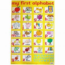 Alphabet And Number Wall Charts My First Alphabet Wall Chart Toys Amp Games Brand New