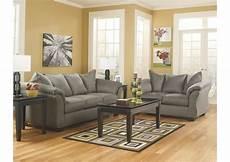 darcy cobblestone sofa loveseat st germain s furniture