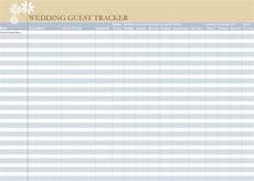Wedding Guest List Spread Sheet Wedding Guest List Spreadsheet Wedding Guest List Worksheet