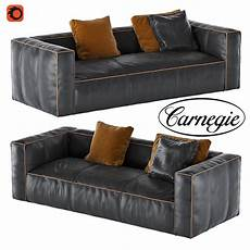 Leather Futon Sofa 3d Image by Nolita Leather Sofa 3d Model Cgtrader