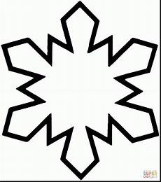 simple snowflake clipart free on clipartmag