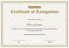 Employee Recognition Certificates Employee Recognition Certificate Design Template In Psd Word
