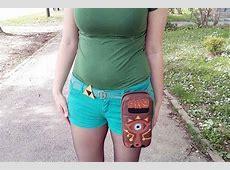 Handmade Zelda Sheikah Slate Nintendo Switch Carrying Case