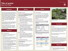 Academic Poster Template Powerpoint 36x48 Template Research Poster Poster Presentation