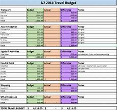 Travel Budget Spreadsheet How To Budget For Travel A Guide By The Trusted Traveller