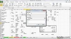 Solver Excel Macro How To Create Macros In Excel Lynda Com Tutorial Youtube