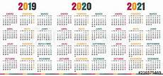 2020 16 Year Calendar Spanish Planning Calendar 2019 2021 Week Starts On